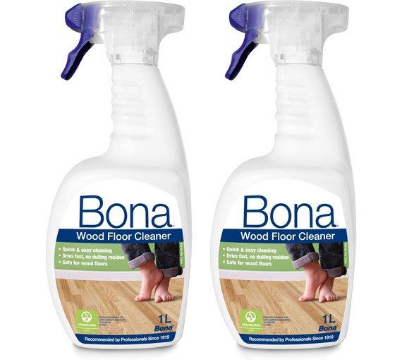 Buy Bona Wood Set Of 2 1l Floor Cleaner Spray Cleaning Sets Argos