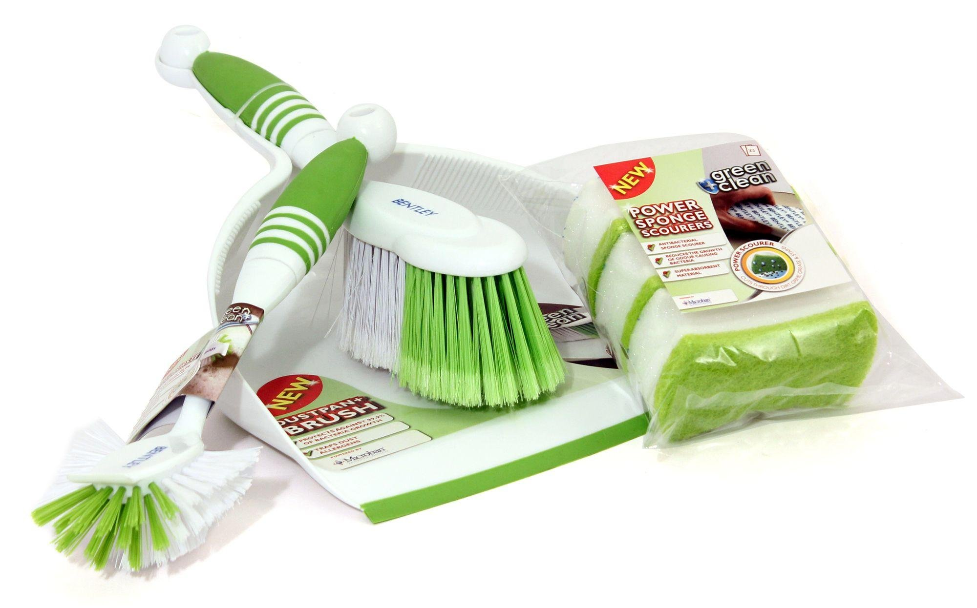 Image of Bentley Green and Clean Kitchen Cleaning Set.
