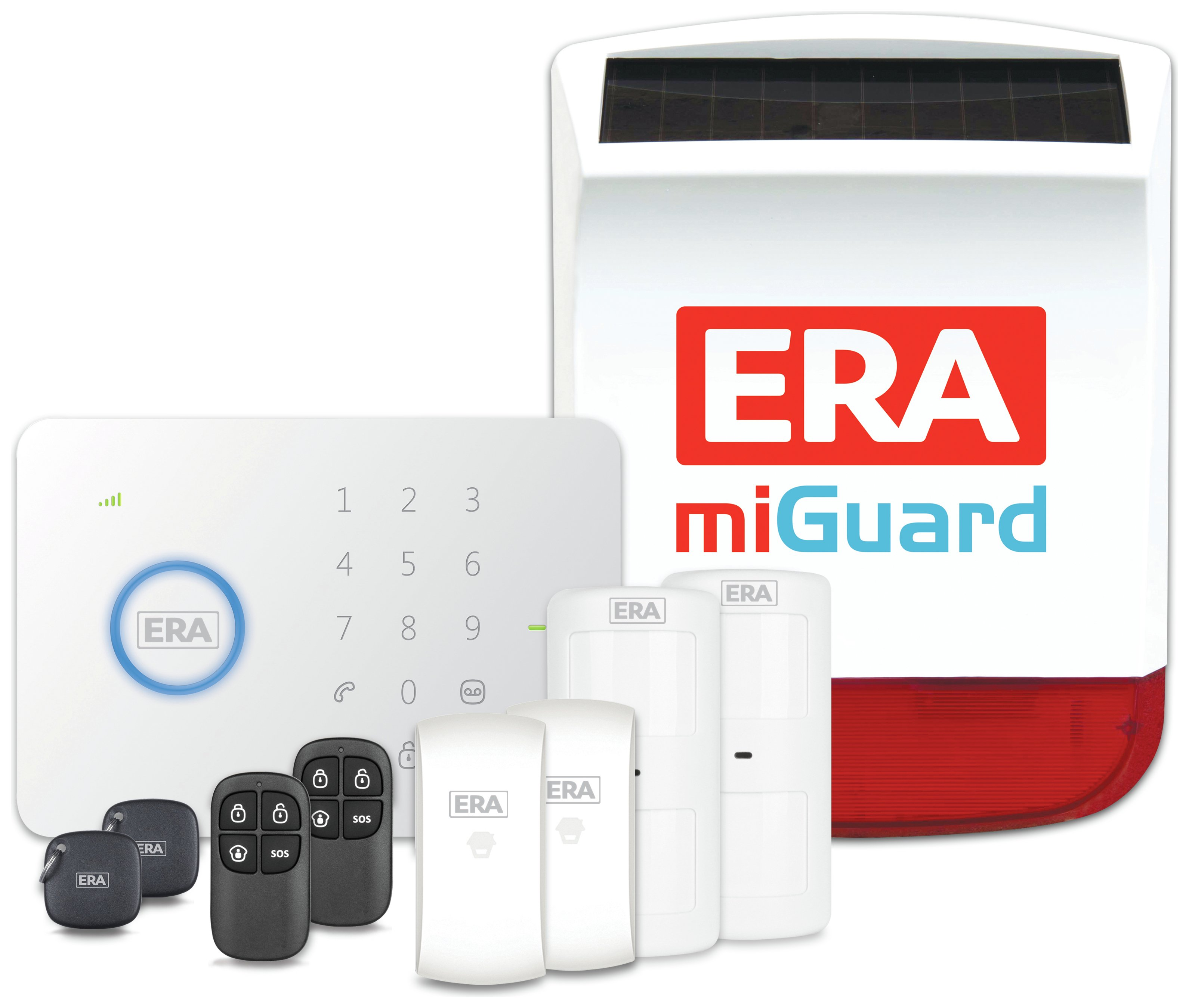 miGuard - G5 Wireless Alarm System with Live Siren