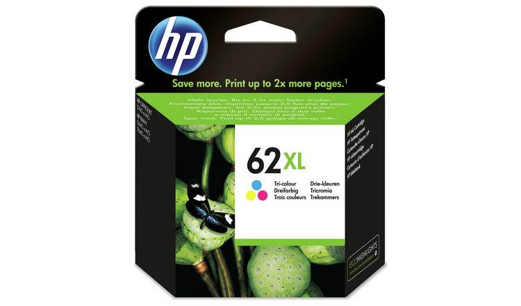 HP 62 XL High Yield Original Ink Cartridge - Colour