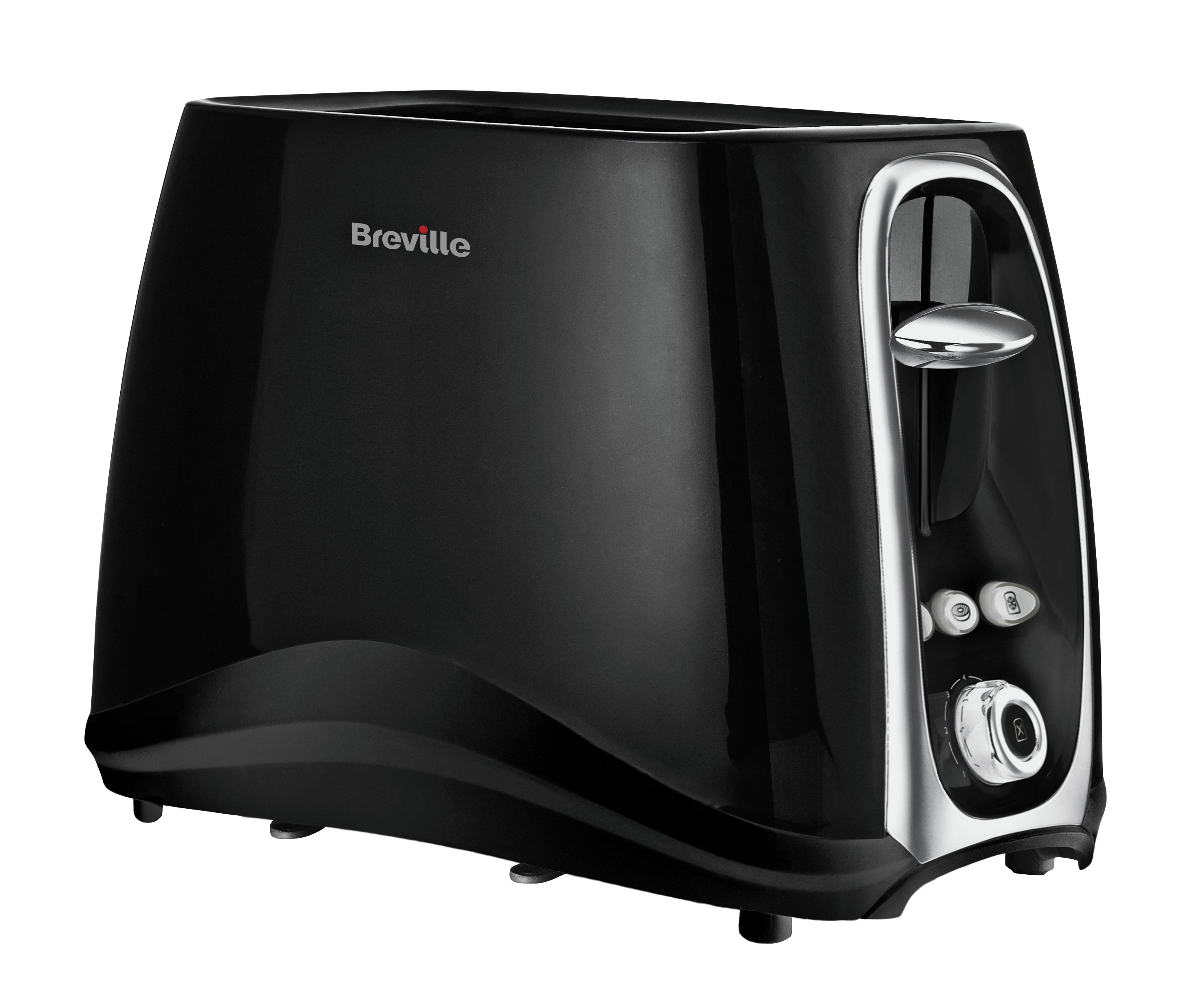 Image of Breville - Style 2 Slice Toaster - Black