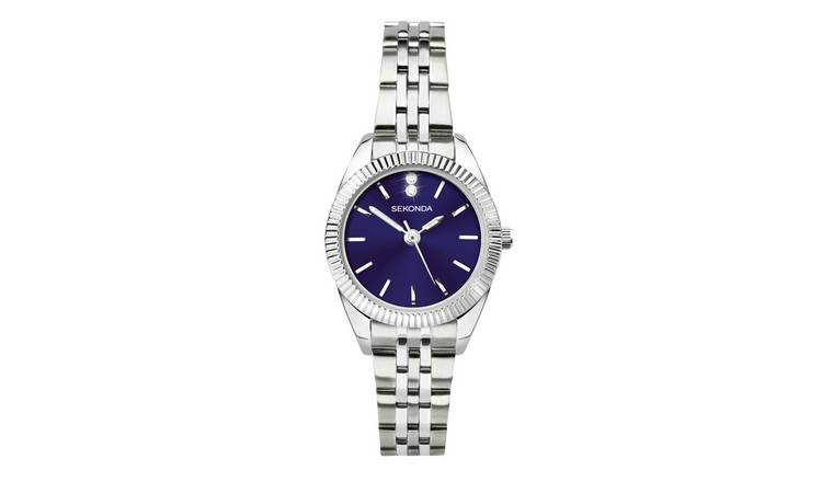 Sekonda Ladies Silver Base Metal Bracelet Watch