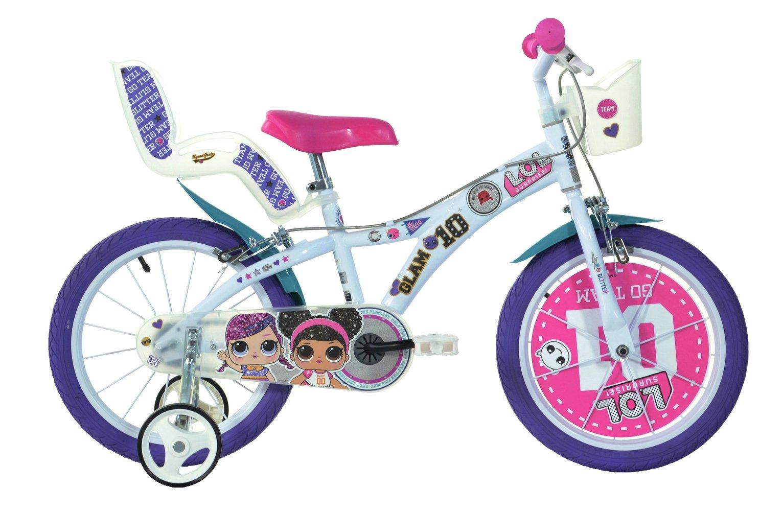 Dino Bikes LOL Surprise 16 Inch Kids Bike