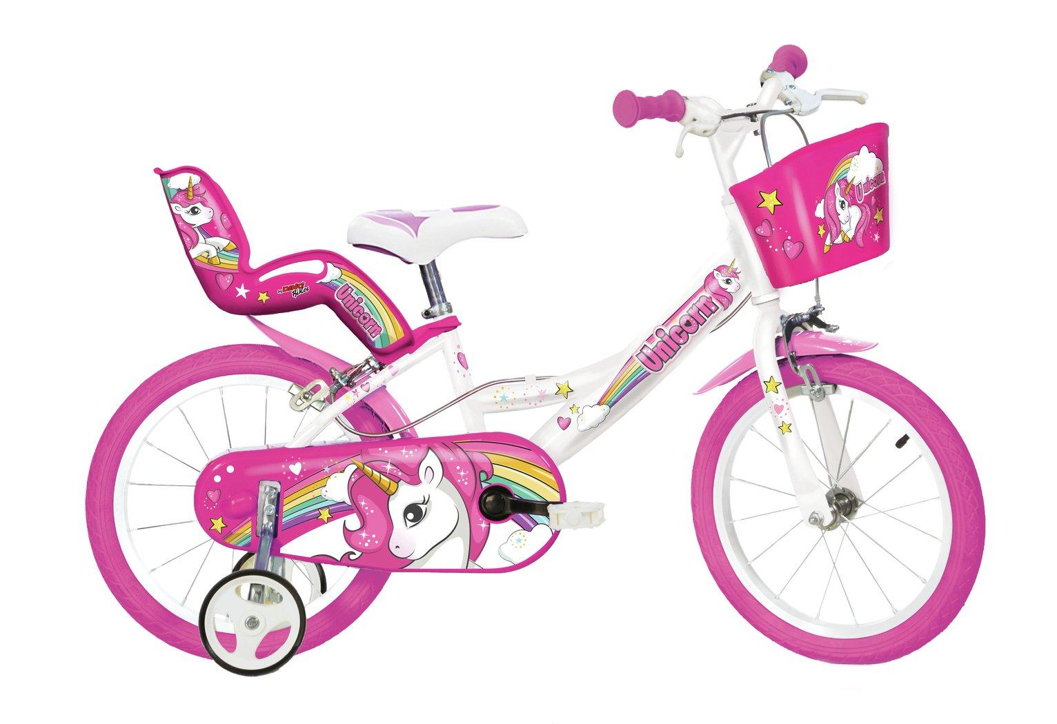 Dino Bikes Unicorn 14 Inch Kids Bike