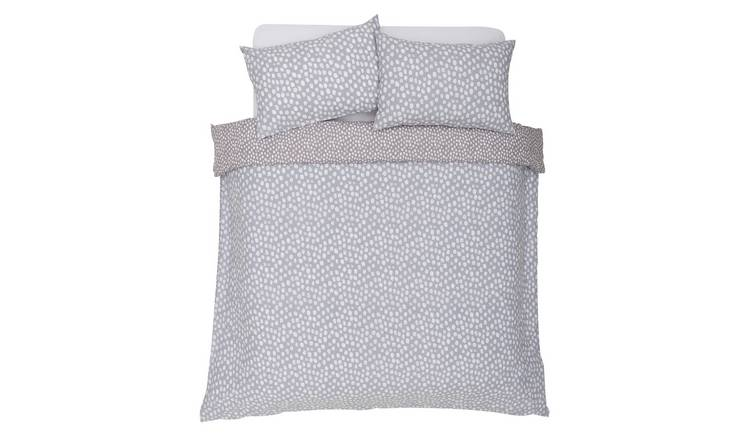 Argos Home Coastline Spot Bedding Set - Kingsize