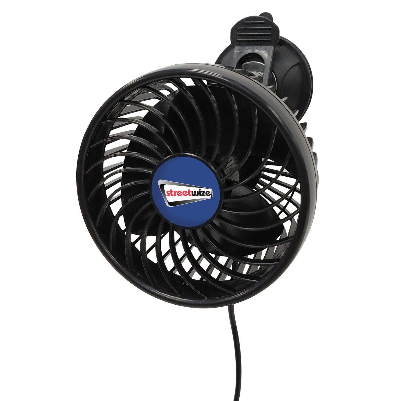Streetwize 12V 2 Speed Car Fan
