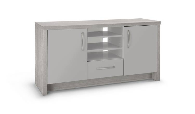 Argos Home Venice 2 Door 1 Drawer Low Sideboard - Grey