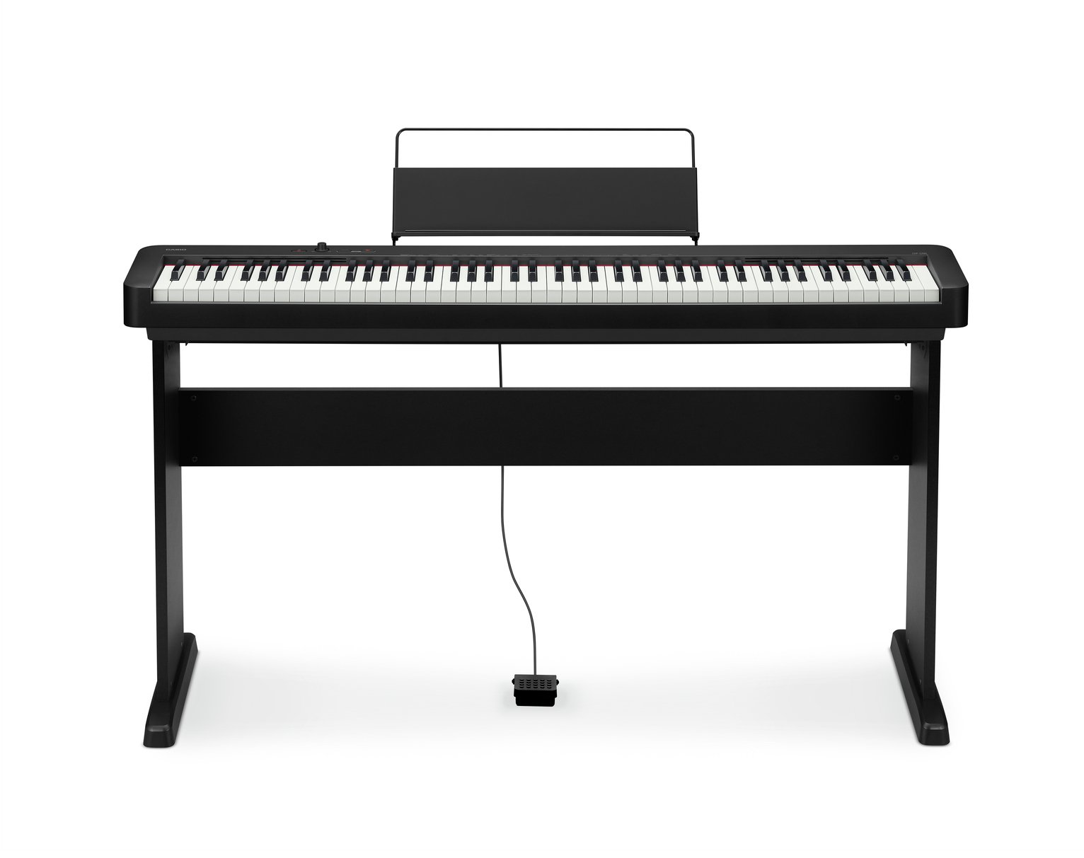 Casio CDP-S100BKC5ST Digital Piano with Stand - Black
