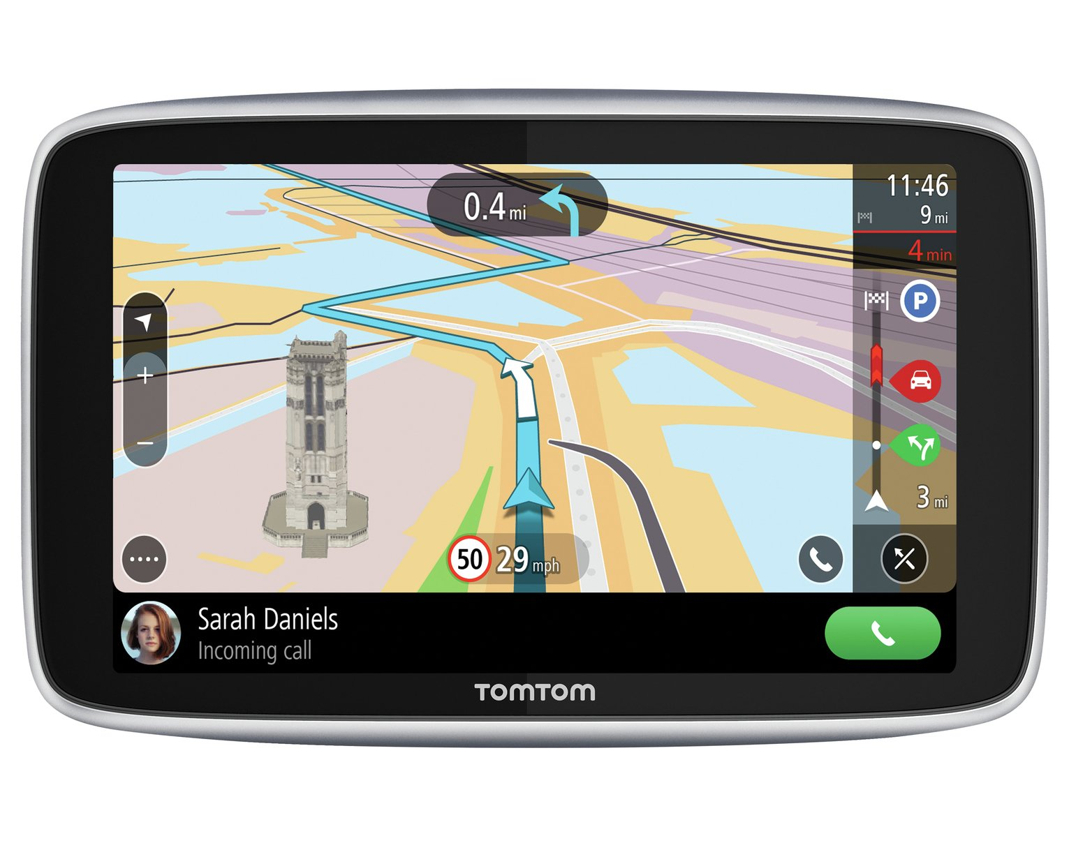 TomTom G0 Premium 5 In Sat Nav with World Maps,Traffic&WiFi