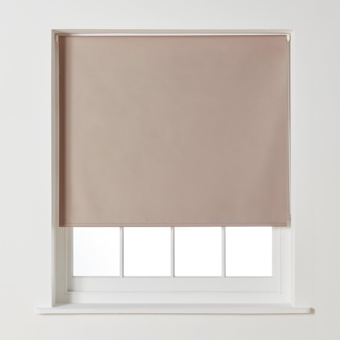Argos Home Blackout Roller Blind - 2ft - Mocha