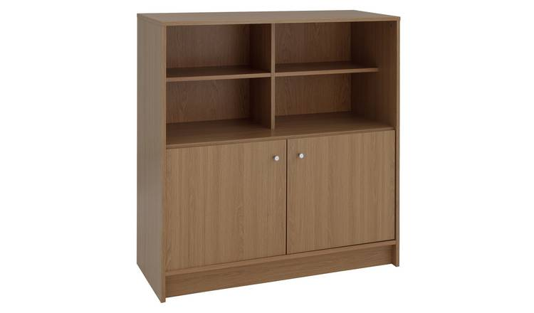 Argos Home Malibu 2 Door Sideboard - Oak Effect