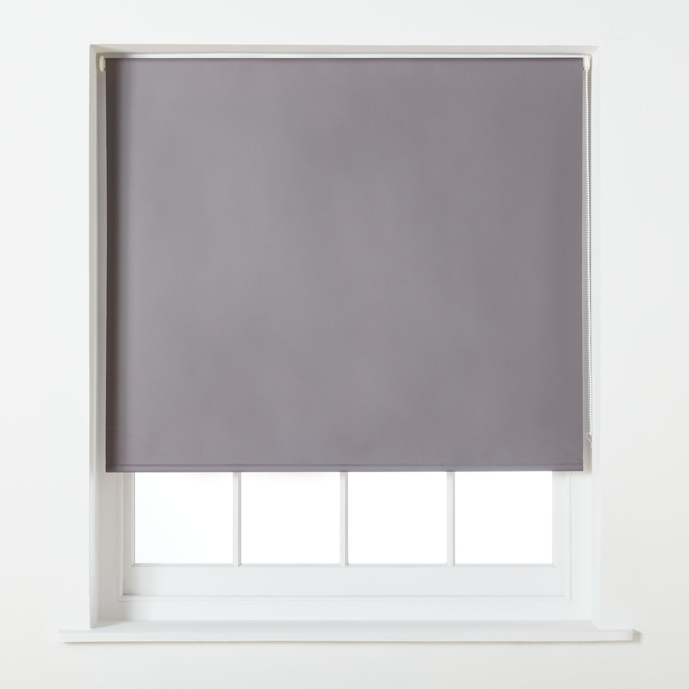 Argos Home Blackout Roller Blind - 4ft - Grey