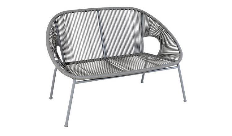 Argos Home Nordic Spring 2 Seater Bench