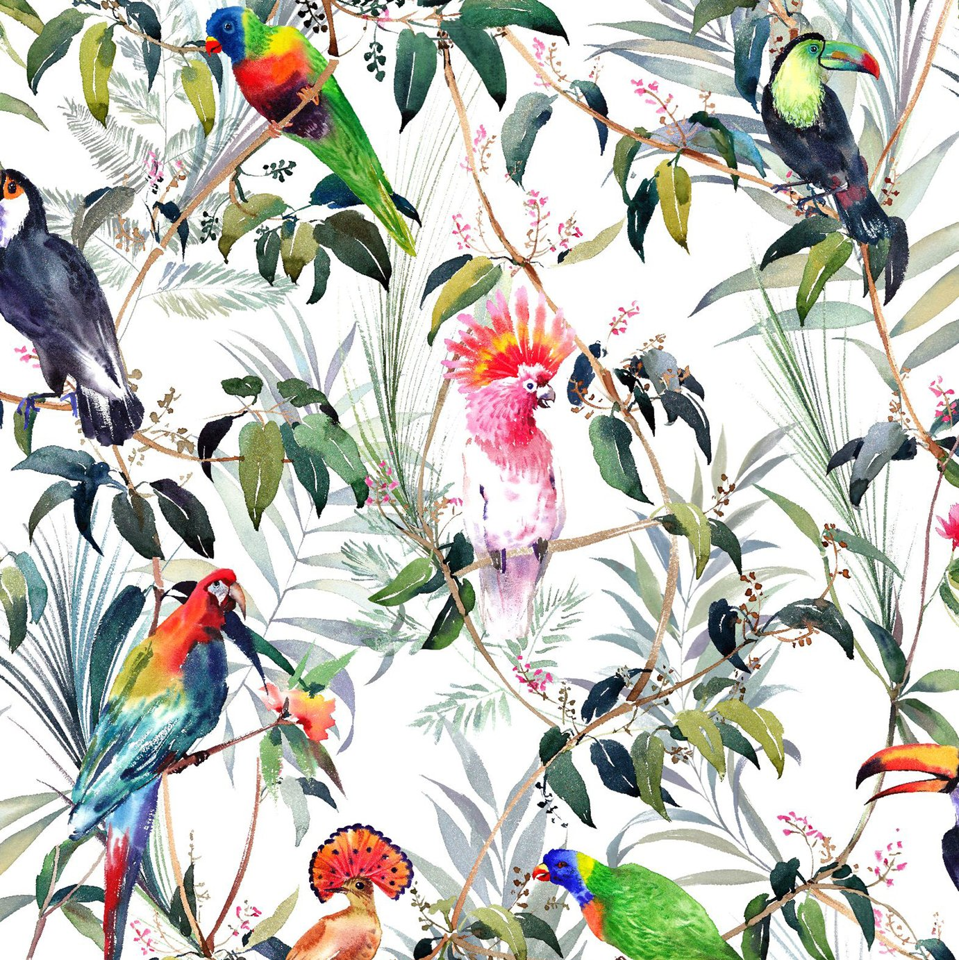 Fresco Amazon Tropical Wallpaper