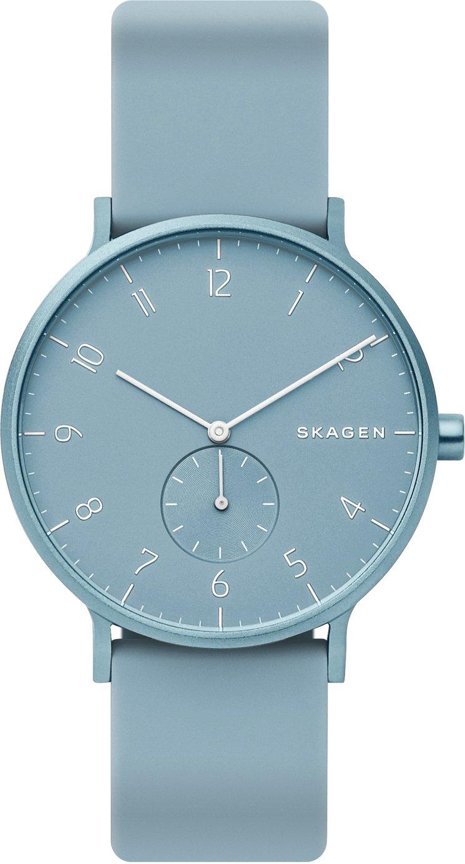 Skagen Kulor Blue Silicone Strap Watch