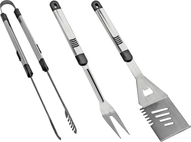 Deluxe BBQ Accessory Kit - 3 Piece