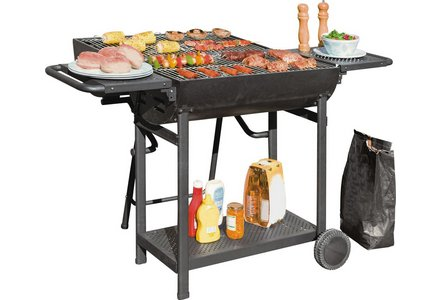 Image of the Deluxe Lovo Charcoal Party BBQ.