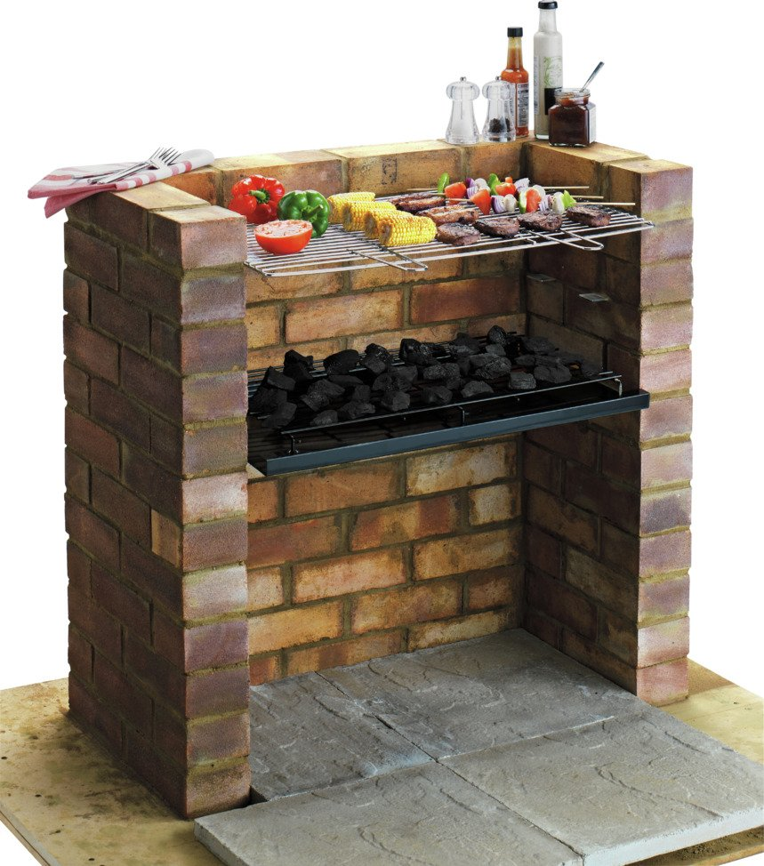 Built-in - Charcoal - BBQ at Argos