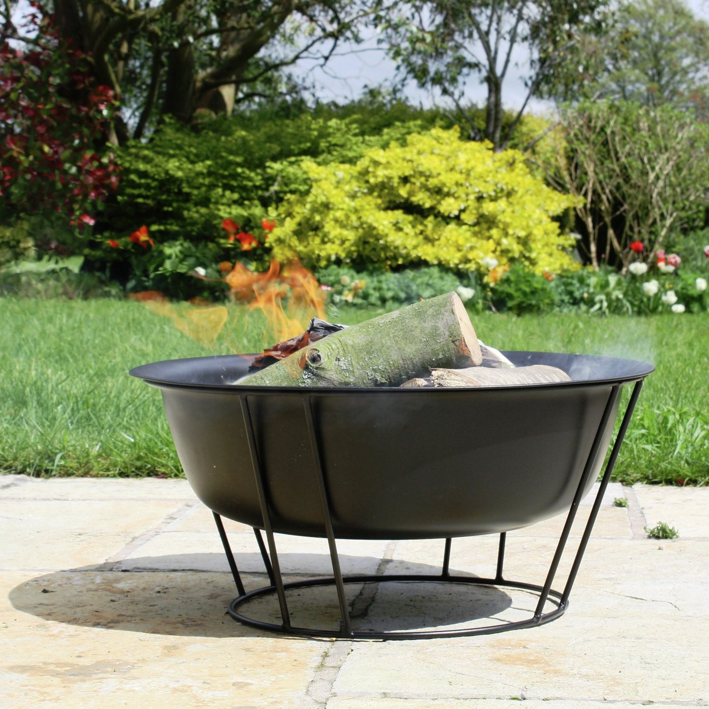 Image of La Hacienda - Steel Firepit