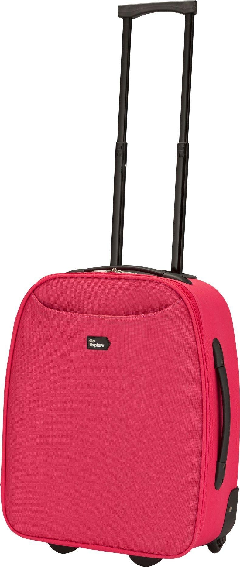 Image of Go Explore - 2 Wheel Cabin Case - Pink