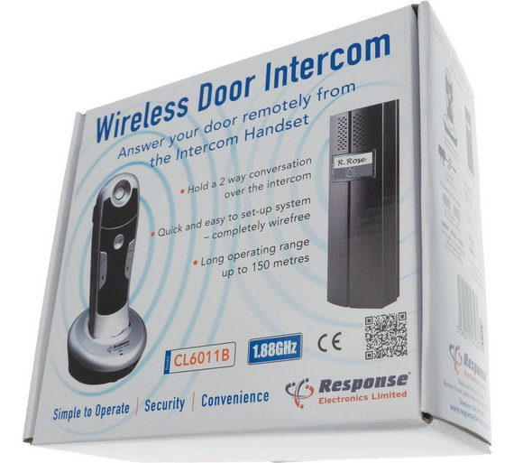front door intercomBuy Response Electronics Wireless Door Entry Intercom Doorbell S