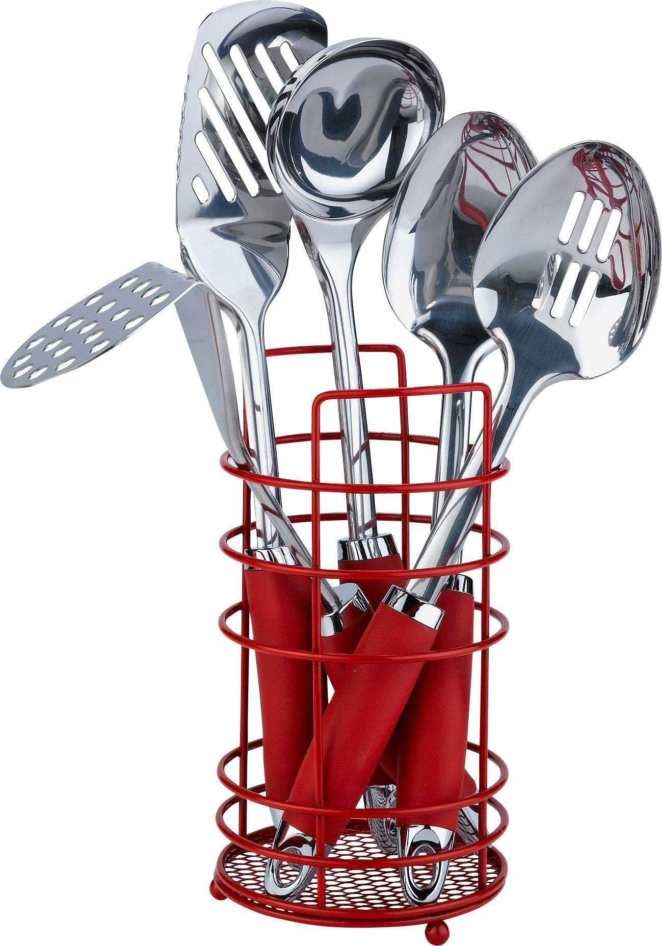 colourmatch-stainless-steel-5-pc-kitchen-utensils-set-red