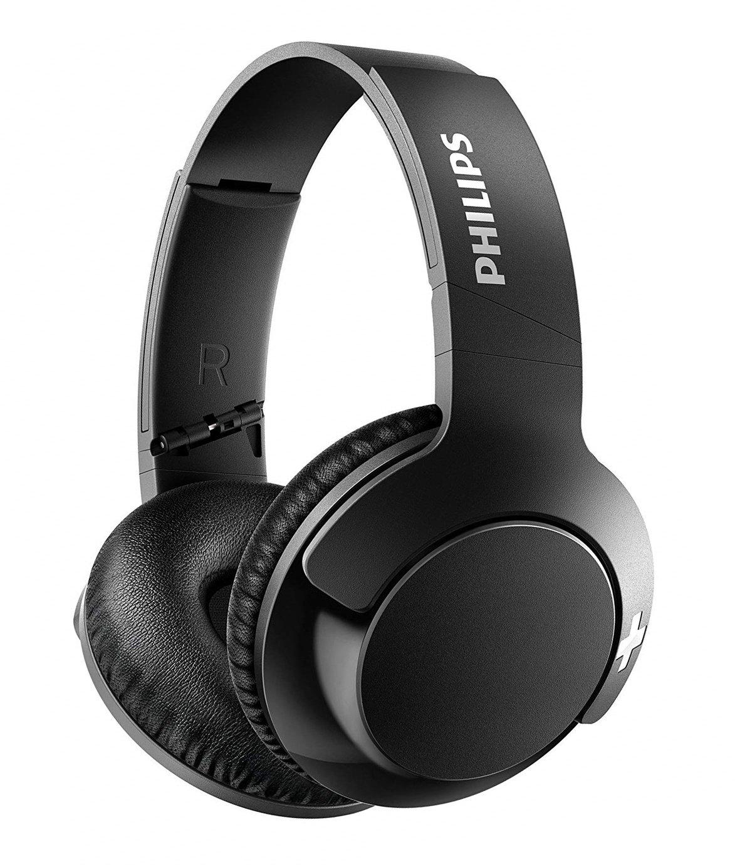 Philips SHB3175BK Over-Ear Wireless Headphones - Blue