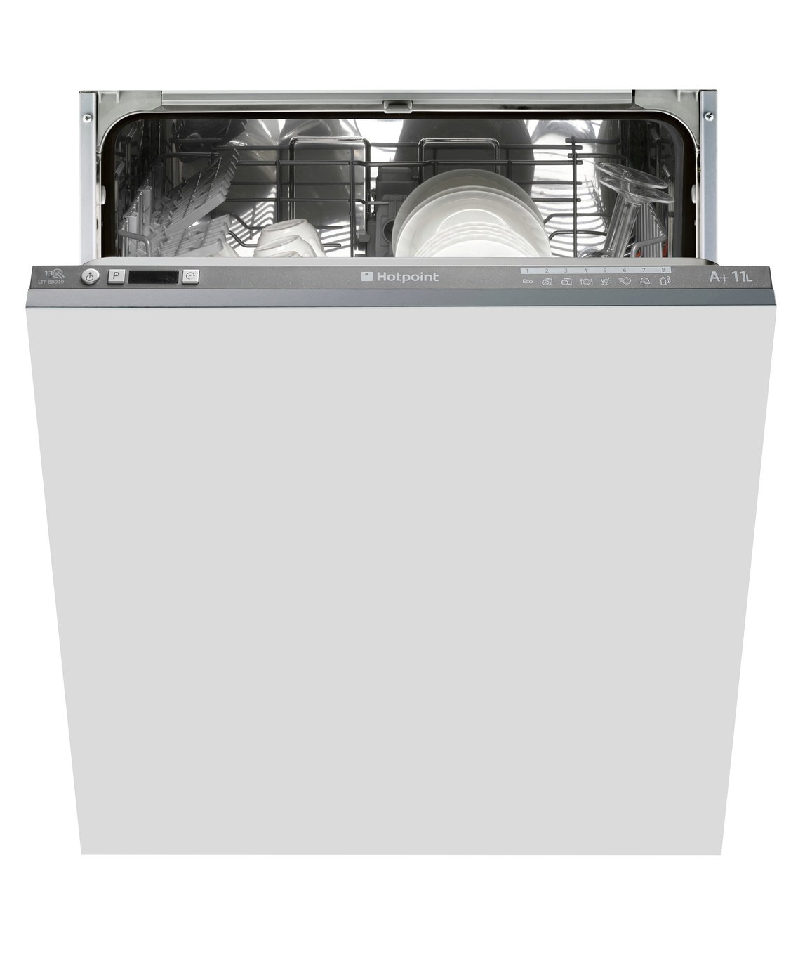 Hotpoint Aquarius LTF 8B019 C Built-in Dishwasher - Graphite