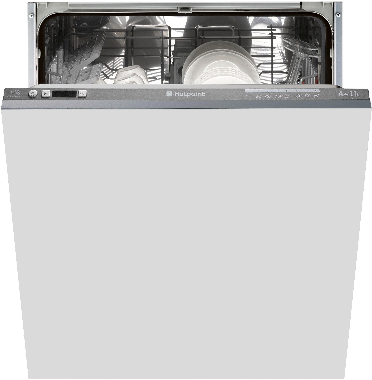 Image of Hotpoint Aquarius LTF 8B019 C Built-in Dishwasher - Graphite