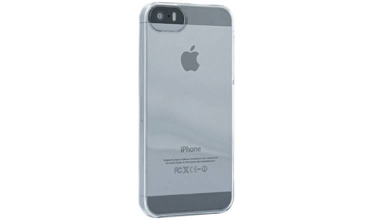 sale retailer a730b 8adf9 Buy Proporta iPhone 5/5S/SE Phone Case - Clear | Mobile phone cases | Argos