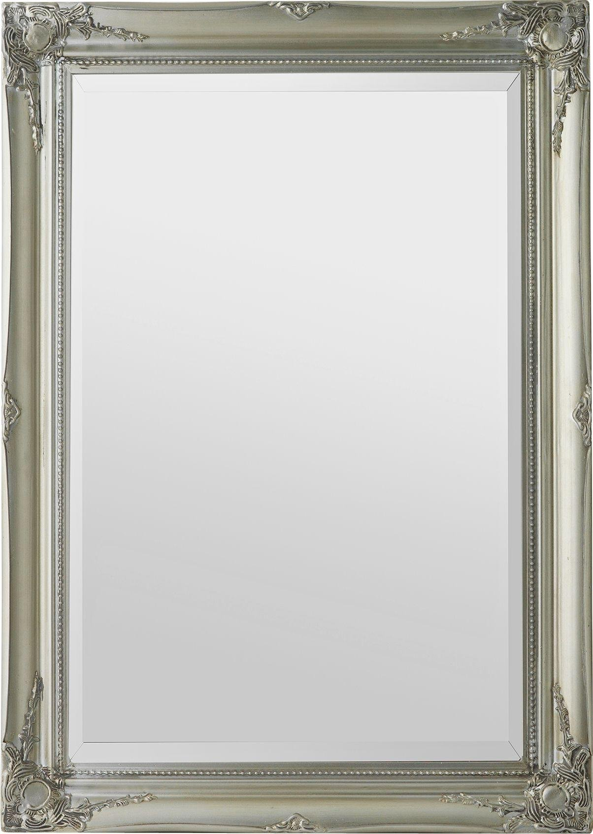 silver wall mirrors uk