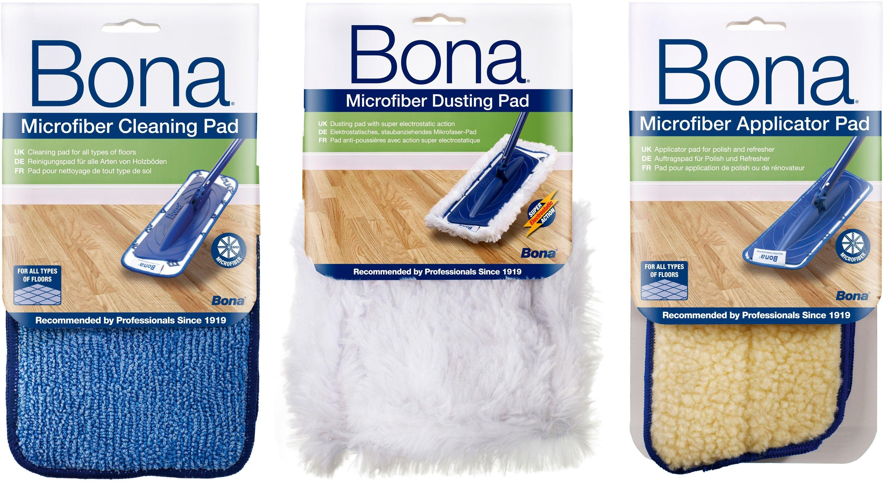 Bona Set of 3 Cleaning and Polishing Pads