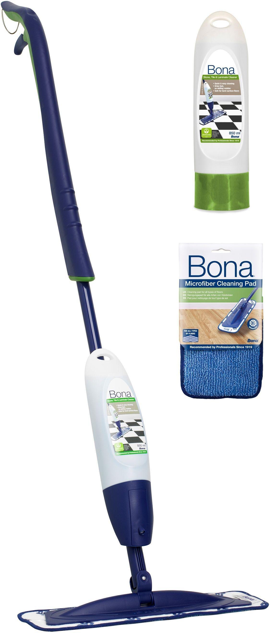 Bona Spray Mop Kit for Stone, Tile and Laminate Floors.
