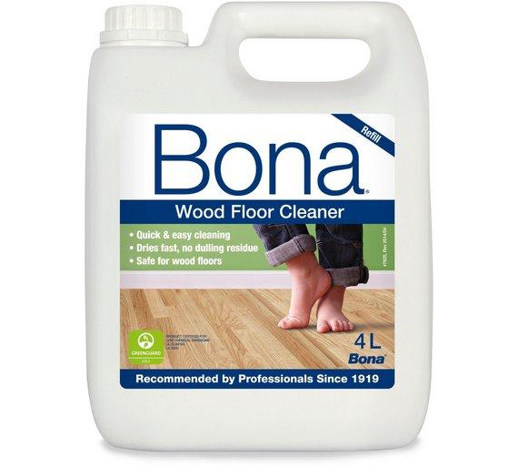 Buy Bona 4l Wood Floor Cleaner Refill Cleaning Sets Argos