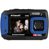 Polaroid - IE090 18MP Waterproof Camera - Blue