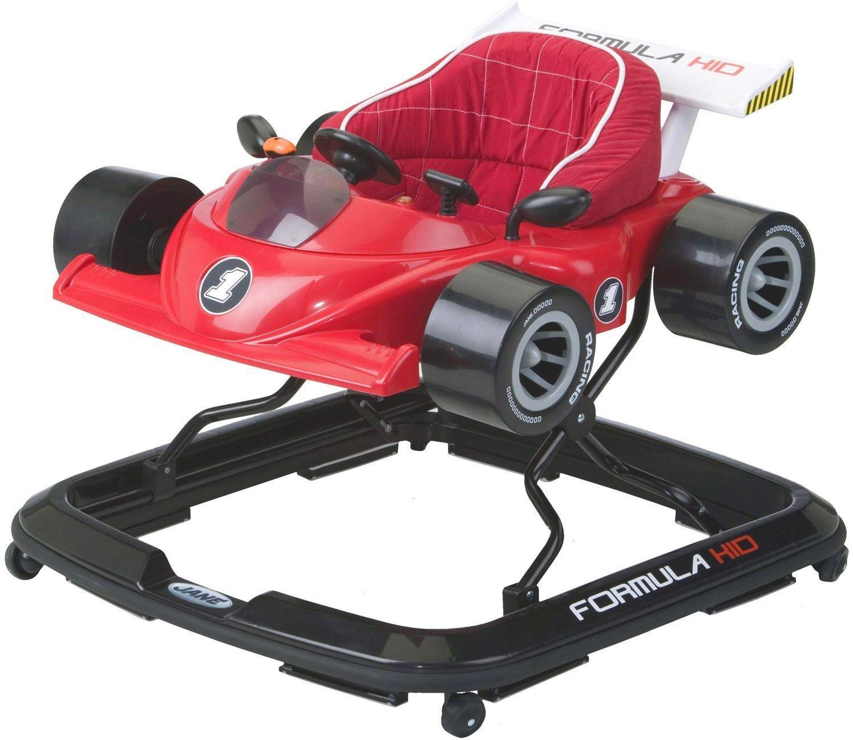 Image of Formula Baby Walker - Red.