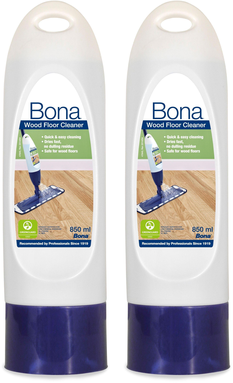 Bona 850Ml Wood Floor Cleaner Cartridges - Pack of 2