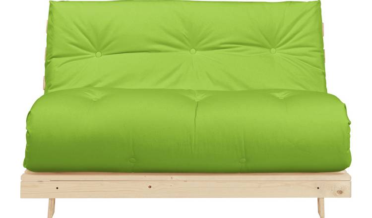 Buy Argos Home Tosa 2 Seater Futon Sofa Bed - Green | Sofa beds ...