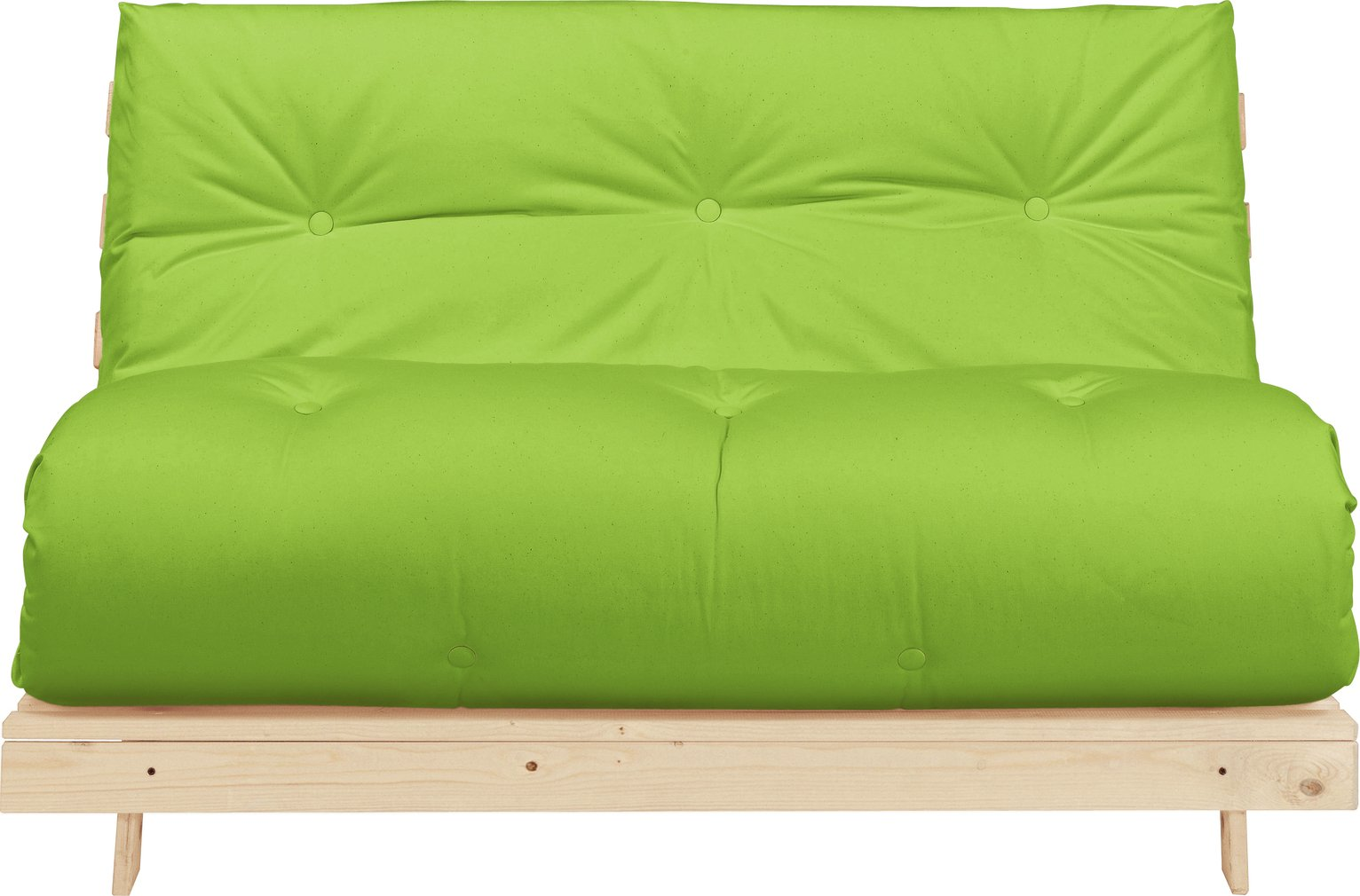 Argos Home Tosa 2 Seater Futon Sofa Bed   Green346/5934