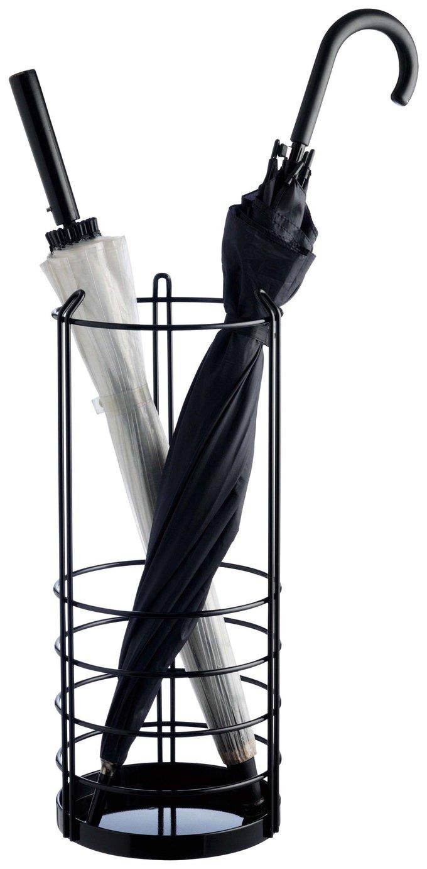 Habitat Saunders Metal Umbrella Stand - Black