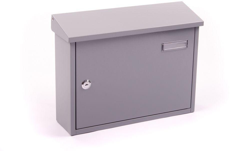 Image of House Nameplate Company Taylor Letterbox - Grey.