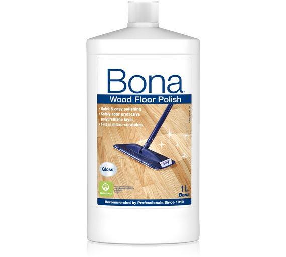 Buy Bona Wood Floor Polish Gloss 1 L Cleaning Sets Argos