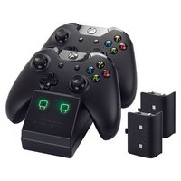 Xbox - One Twin Charging Cradle & 2 Rechargable Battery Packs