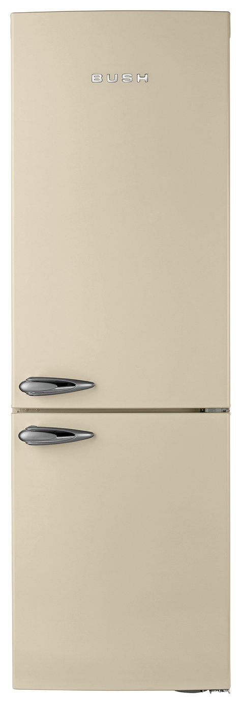Bush Classic BFFF60 Frost Free Retro Fridge Freezer - Cream Best Price, Cheapest Prices
