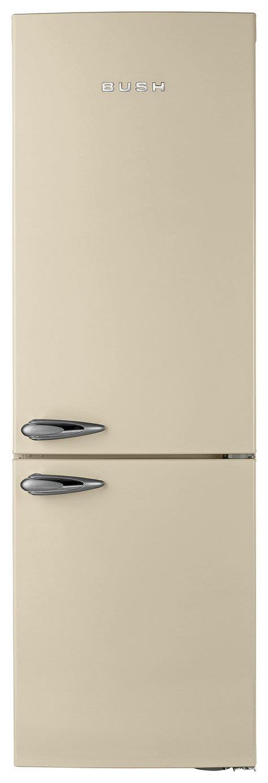 Image of Bush - Classic BFFF60 Retro - Fridge Freezer- Cream