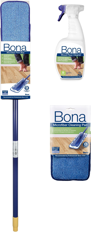Bona Wood Floor Cleaning Kit.