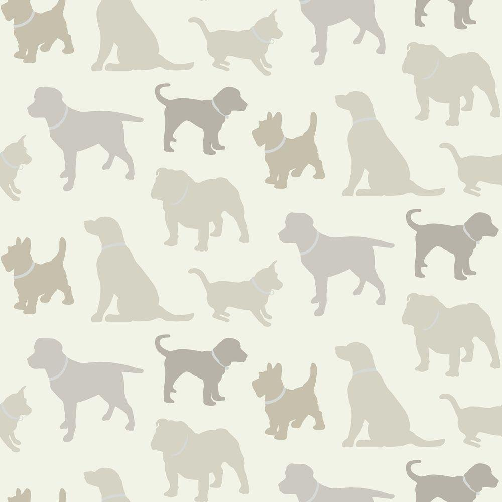 arthouse walkies wallpaper  neutral.