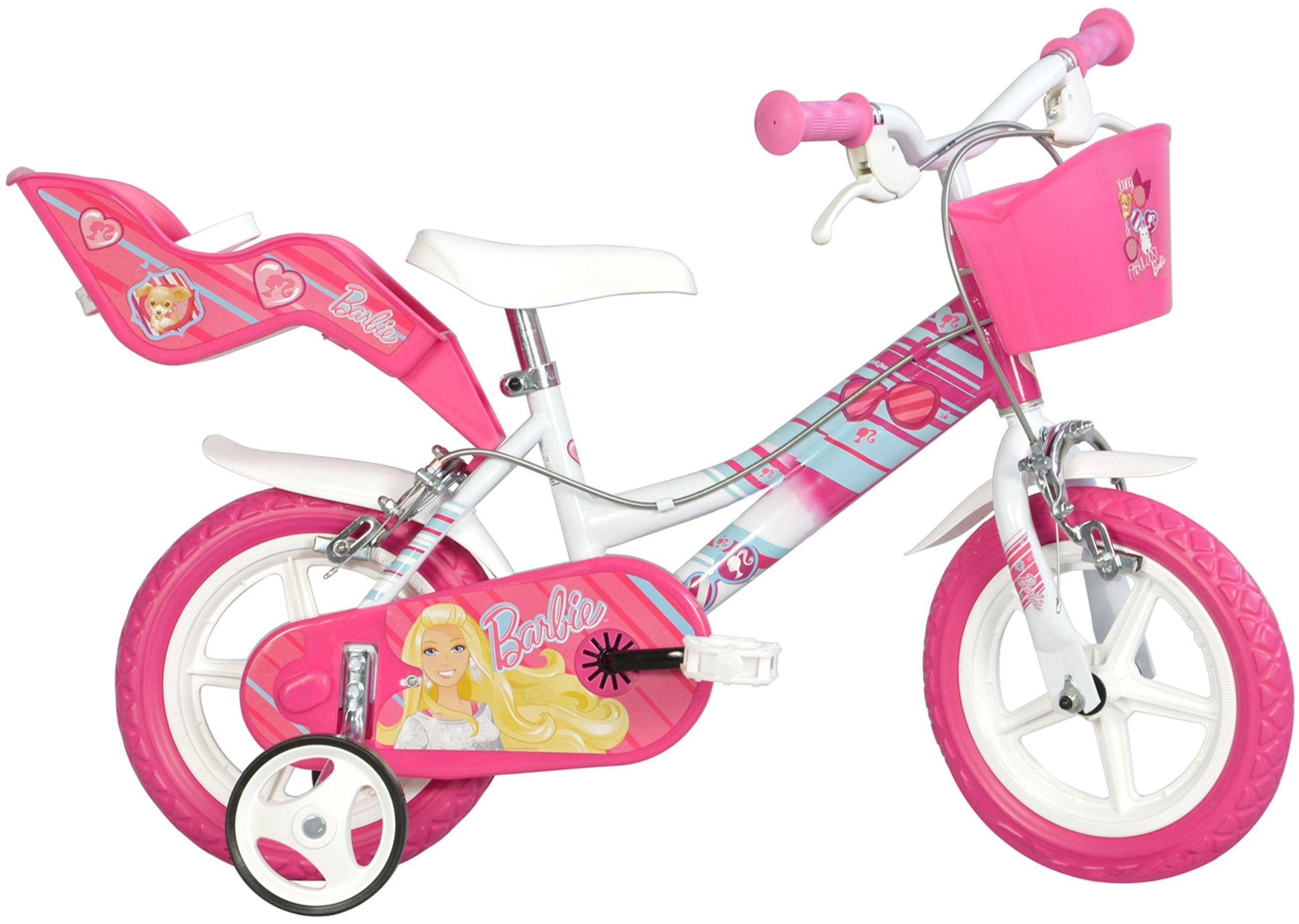 Image of Barbie Bicycle 12 inch