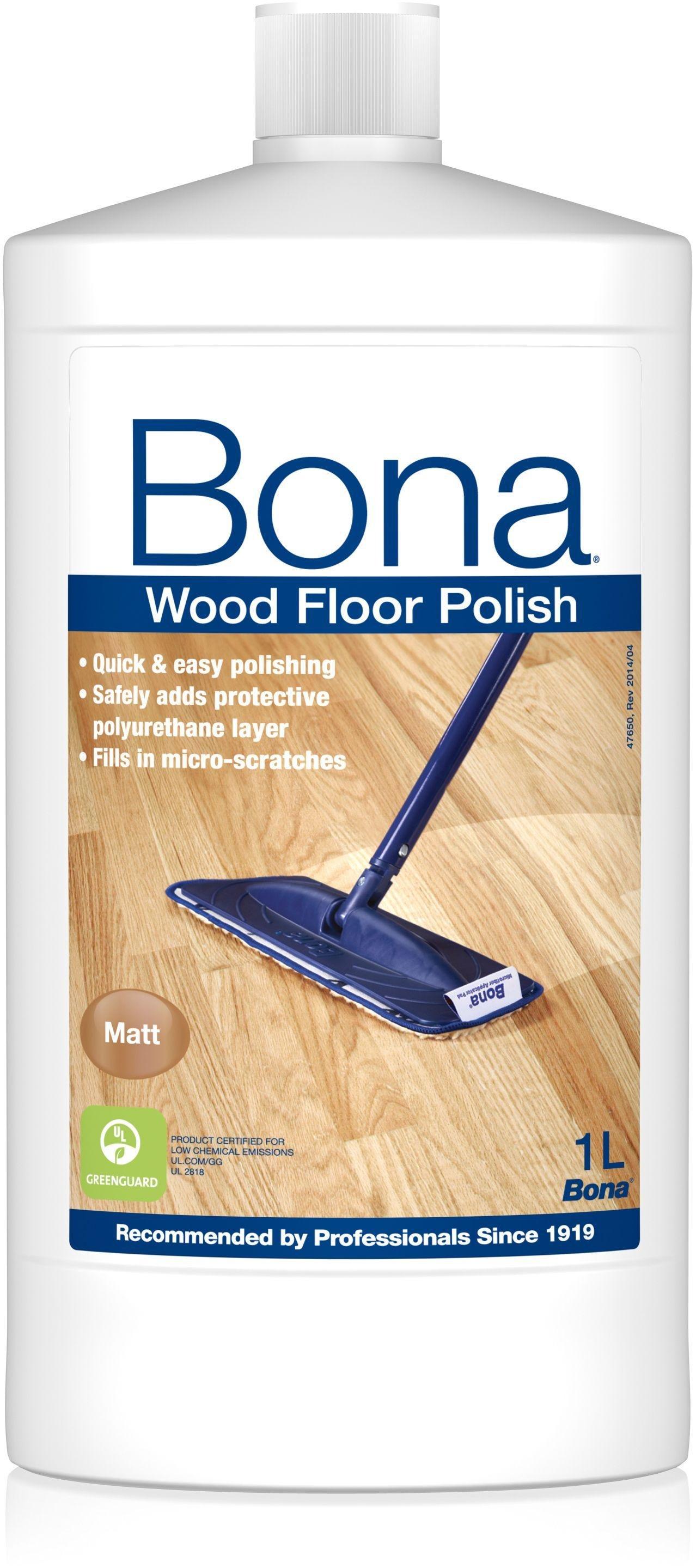 Bona 1L Wood Floor Polish - Matt