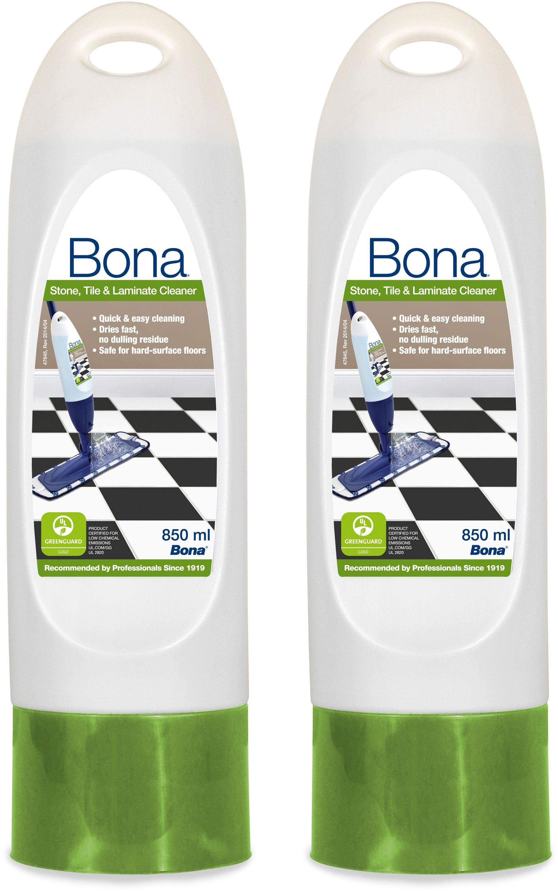 Image of Bona Set of 2 850ml Stone,Tile & Laminate Cleaner Cartridges